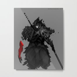Assassin X Metal Print