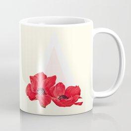 Floral Triangle Coffee Mug