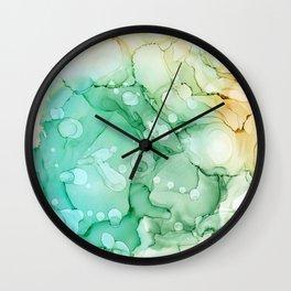 Bora Bora Wall Clock