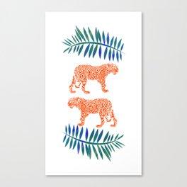 Exotic Wild Cat Canvas Print