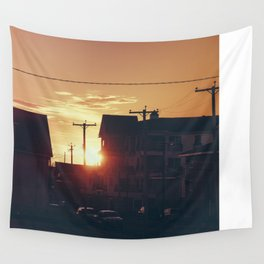 Seaside Sunset  Wall Tapestry