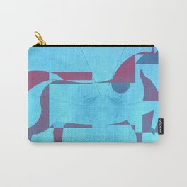 Horses three - geometric Carry-All Pouch