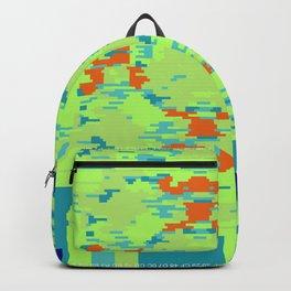"""""""Glitch"""" series #4 Backpack"""