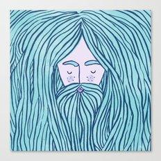 Merman Canvas Print