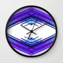 Future Boho Ultra Violet Wall Clock