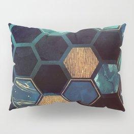 Blue & Gold Pillow Sham