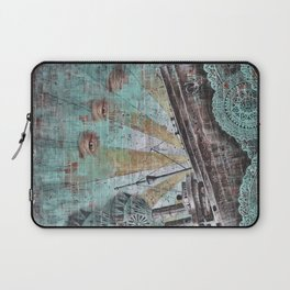 the boat wall Laptop Sleeve