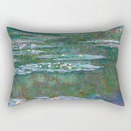 Water Lilies Claude Monet 1904 Rectangular Pillow