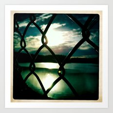 Don't Fence Me In... Art Print