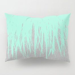 Fringe Concrete Mint Pillow Sham