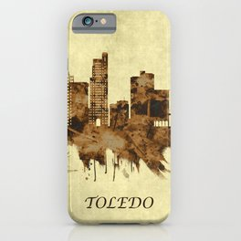 Toledo Ohio Cityscape iPhone Case
