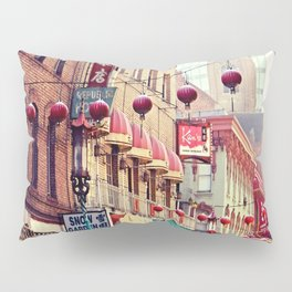 San Fransisco Chinatown Pillow Sham