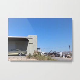 Terlingua Machines Metal Print