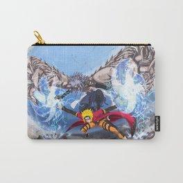 Sage Art : Spiraling Thunderstorm Shuriken Carry-All Pouch