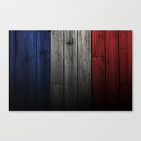 france Canvas Prints featuring France by Nicklas Gustafsson