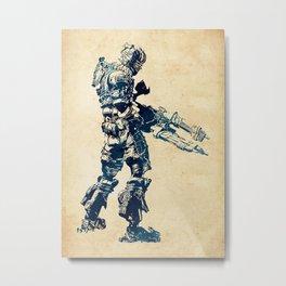 Isaac Clarke Metal Print