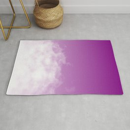 Purple Sky Soft Cloud Rug