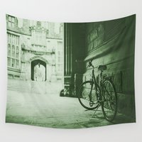 jewish Wall Tapestries featuring Break Time by Brown Eyed Lady
