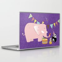 band Laptop & iPad Skins featuring Music Band by Roberta Jean Pharelli