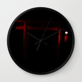 Finding Game (Kyoto, Japan) Inari Wall Clock