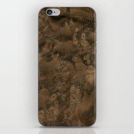 Walnut Burl Wood iPhone Skin