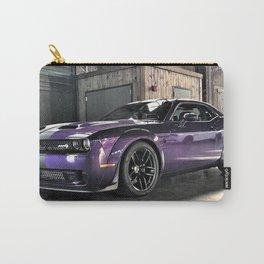 Plum Crazy Purple Challenger Demon Hellcat Redeye Carry-All Pouch
