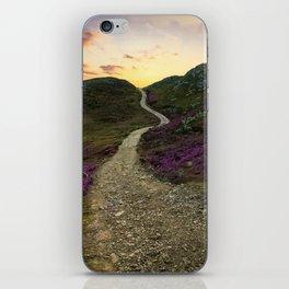 Sunset at Skye Island iPhone Skin