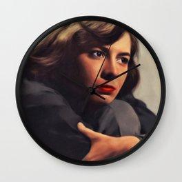 Patricia Highsmith, Literary Legend Wall Clock