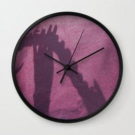 Flute player Wall Clock