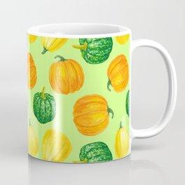 Pumpkins watercolor pattern Coffee Mug