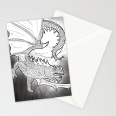 Black Dragon Stationery Cards