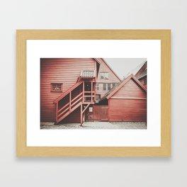 Architecture in Bergen Framed Art Print