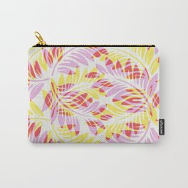 Warm Spring Fern Carry-All Pouch