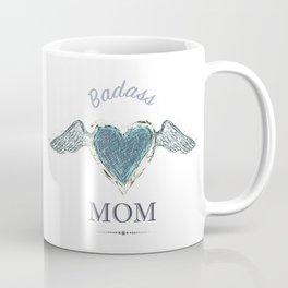 Badass Mom (2) - by Fanitsa Petrou Coffee Mug