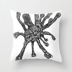 Bacteria. Throw Pillow