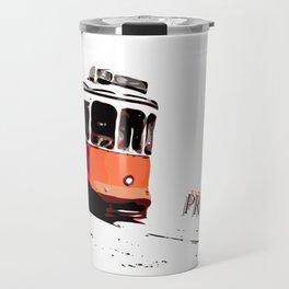 Trolley Problem Travel Mug