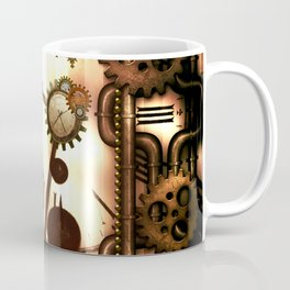 Steampunk, clocks and gears, vintage design Coffee Mug