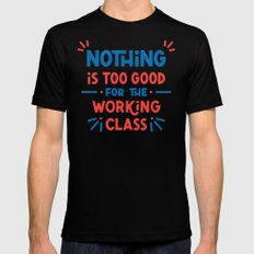 The Working Class Black MEDIUM Mens Fitted Tee