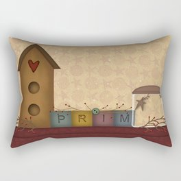 Primitives Rectangular Pillow
