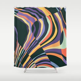 Fusion 8 Shower Curtain