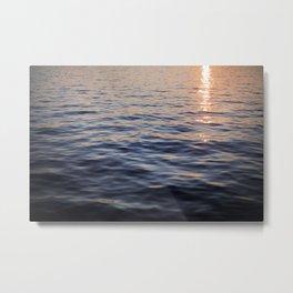 Puget Sound Sunset II Metal Print