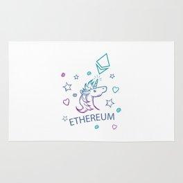 Ethereum Unicorn Premium Rug