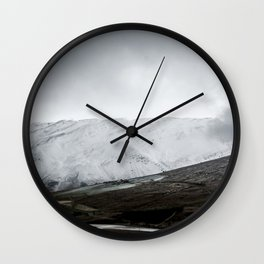 September snow Wall Clock