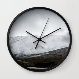September snow Wall Clock