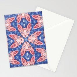 Sphynx Cat - Rose Quartz and Serenity version Stationery Cards