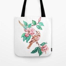 Bird Blossoms Tote Bag