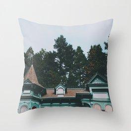 Shelton McMurphey House Throw Pillow