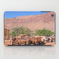 utah iPad Cases featuring Horses Utah by BACK to THE ROOTS