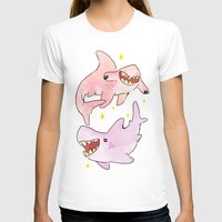 sharks T-shirts featuring Sharks by McKensie S