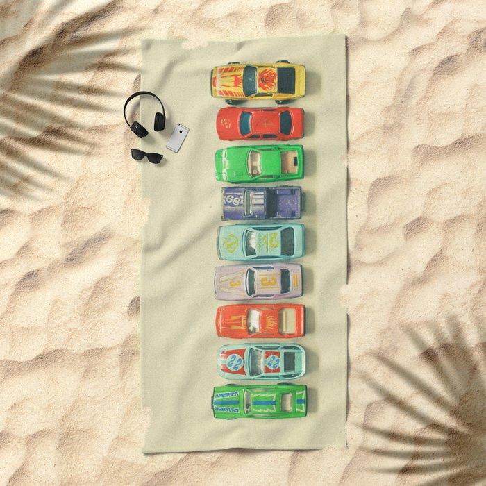 Get Set Go Beach Towel